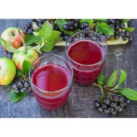 Компот из яблок, малины и рябины - Фото