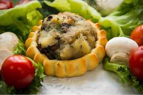 Перепечки с картофелем и грибами - Фото