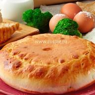 Пирог с индейкой, брокколи и брынзой Фото