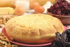 Пирог свекольный с орехами и черносливом - Фото