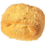 Пирожок со сливой и малиной Фото