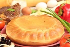 Пирог пицца с говядиной - Фото