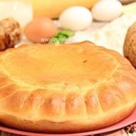 Пирог с цыпленком и корнем сельдерея Фото