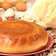 Пирог с яйцом и капустой Фото