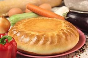 Пирог овощной - Фото