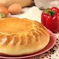 Пирог с кабачком и болгарским перцем Фото