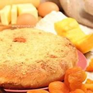 Пирог с тыквой, курагой и пшенной кашей Фото
