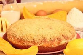 Пирог с тыквой и лимоном - Фото