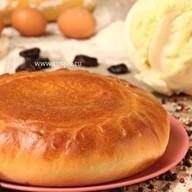 Пирог с капустой и черносливом Фото