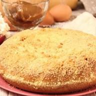 Пирог с творогом и сгущенкой Фото
