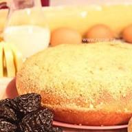 Пирог с орехом и черносливом Фото