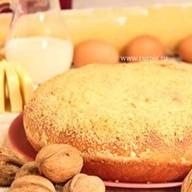 Пирог с орехом Фото