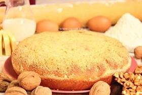 Пирог с орехом - Фото