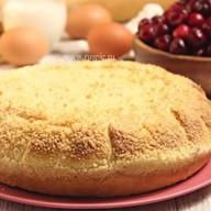 Пирог с вишней и крыжовником Фото