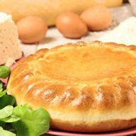 Пирог с брынзой и шпинатом Фото