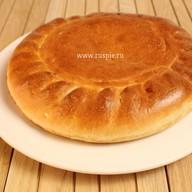 Пирог с рисом и изюмом постный Фото