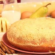 Пирог с грушей Фото