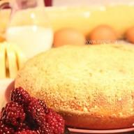Пирог с творогом и ежевикой Фото
