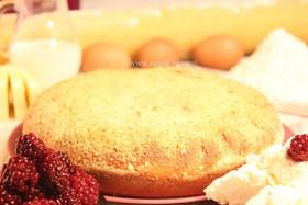 Пирог с творогом и ежевикой - Фото