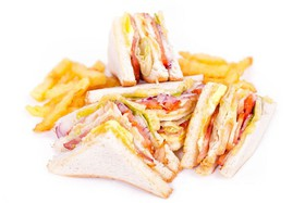 Сэндвич с курицей - Фото