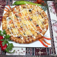 Пицца-кебаб из телятины Фото