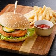 Чикен бургер нью Фото