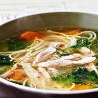 Суп-лапша с курицей Фото