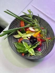 Букет из свежих овощей - Фото