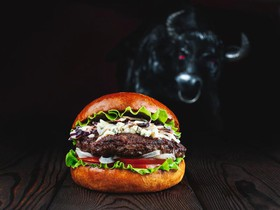 Блю чиз бургер - Фото