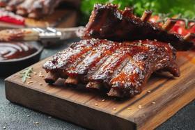 Свиные ребра BBQ - Фото