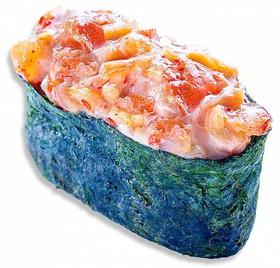 Суши спайс лосось - Фото