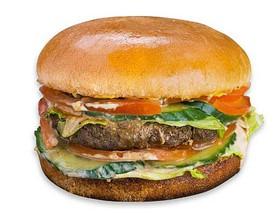 Бургер с говядиной - Фото