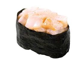 Суши спайс с гребешком - Фото
