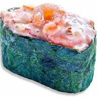Суши спайс креветка Фото