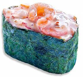 Суши спайс креветка - Фото