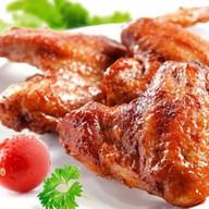Шашлык из куриных крыльев Фото