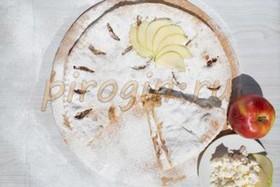 Осетинский творожный пирог с яблоками - Фото