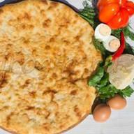 Осетинский пирог с капустой и яйцом Фото