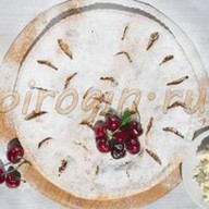 Творожный пирог с вишней Фото