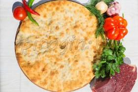 Осетинский пирог с говядиной и перцем - Фото
