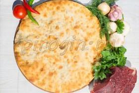 Осетинский пирог с говядиной и грибами - Фото