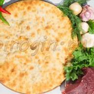 Осетинский пирог с говядиной и грибами Фото