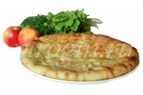 Осетинский пирог с яблоками - Фото