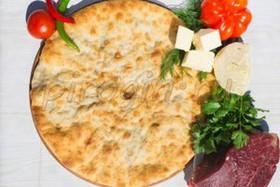 Осетинский пирог с говядиной и сыром - Фото