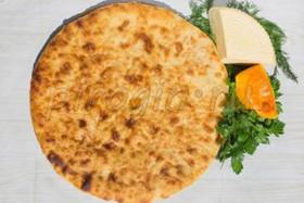 Осетинский пирог с тыквой и сыром - Фото
