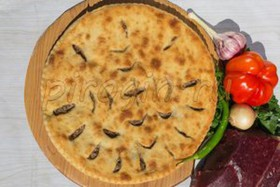 Осетинский пирог с рубленым мясом - Фото
