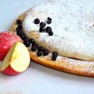Осетинский сладкий пирог яблоко черника Фото