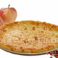 Осетинский пирог с яблоками и клюквой Фото