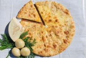 Осетинский пирог с картофелем и шпинатом - Фото