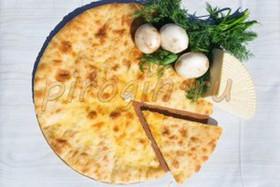 Осетинский пирог с сыром и грибами - Фото